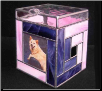 Stained Glass Quilters Photo Pet Urn