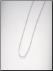A Box Chain in Sterling Silver or Gold Filled