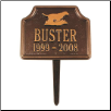 Retriever  Memorial Marker
