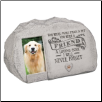 Pet Memorial Stone with Photo Insert