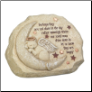 Cat Memorial Message Stone