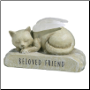 Cat Angel Light-Up Figurine Memorial