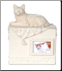 Beloved Companion Cat Photo Keepsake Box or Urn