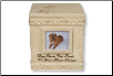 Memory Box - Dog Paw Prints Urn