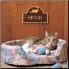 Pet Cat Mini Arch Memorial Marker - Wall