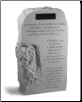 "Angel Memorial Obelisk - ""I thought of you today..."" - Personalized"