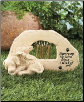 Memorial Wind Chime Stone for Dog