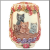 Autum Enchantment Keepsake Cat Urn by Jardinia Harmony Ball