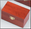 """A Polish Box Collection"" - Maple Finish Wooden Pet Urn"