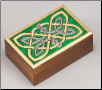 Celtic Knotwork Wooden Box