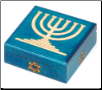 Menorah Wooden Box