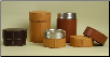Hand Crafted Leather Urns