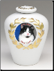 Photo Jar Urn for Cat