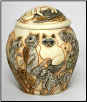 Cats Galore Cat Cremation Urn by Jardinia Harmony Ball