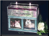 Stained Glass Companion Candle Pet Urn