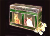 Stained Glass Companion Dog or Cat Urn
