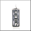 Love and Destiny Pendant - Sterling Silver Dog Lover Jewelry