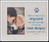 Love Deeply Pet Memorial Frame