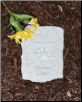 Always Remembered Forever Loved Pet Memorial Stone
