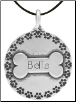 Surrounded by Friends Pendant - Sterling Silver Dog Lover Jewelry