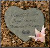 Faithful Friend Memorial Stone or Plaque