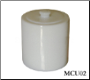 White Marble Pet Urn - Large