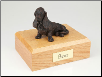 Basset Hound Bronze Dog Breed Figurine Urn