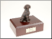 Beagle Bronze Dog Breed Figurine Urn