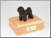 Bichon Frise Bronze Dog Breed Figurine Urn