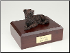 Border Collie Bronze Dog Breed Figurine Urn