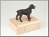 Brittany Bronze Dog Breed Figurine Urn
