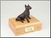 Bull Terrier Bronze Dog Breed Figurine Urn