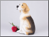 Beagle Dog Figurine Garden Pet Urn