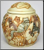 Felinicity Cat Urn by Jardinia Harmony Ball