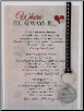 Cat Memorial Keychain & Card