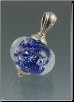 Hand Blown Glass Pendant Jewelry Keepsake Urn