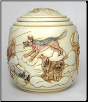 Good Day Sunshine Dog Urn by Jardinia Harmony Ball