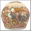 Jewel of the Jungle Keepsake Urn by Jardinia Harmony Ball