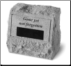 PERSONALIZED Garden Memorial Urn - 'Gone Yet Not Forgotten'