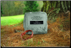 PERSONALIZED Garden Memorial Stone Urn - 'In Memory . . . . . .'