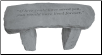 Garden Memorial Stone Bench - 'If love could have saved you...'