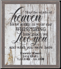 May the Winds of Heaven - Lighted & Personalized Pet Memorial