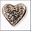 Charms - Decorative Heart