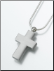 Pewter Cross Keepsake Pendant