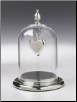 Pewter Glass Dome & Pewter Base by Madelyn Company