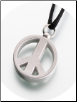 "Pewter ""Peace Sign"" Keepsake Pendant"