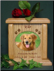 Oval Photo Pet Urns