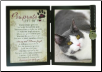 Pawprints Cat Memorial Frame