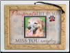 Pet Memorial Photo Ornament
