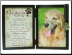 Pawprints Dog Memorial Frame